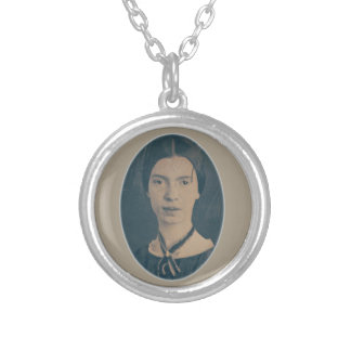 Emily Dickinson portrait necklace