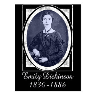 Emily Dickinson Postcard