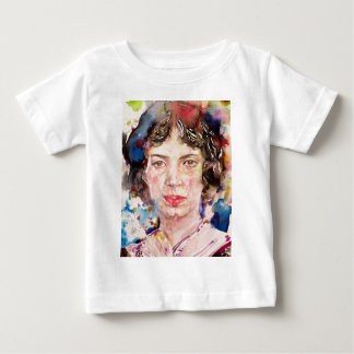 emily dickinson - watercolor portrait.2 baby T-Shirt