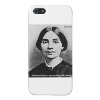 Emily Dicksinson Wild Nights Love Quote Gifts iPhone 5/5S Covers