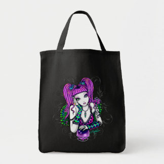 """Emily"" Magical Rainbow Crystal Ball Canvas Bag"