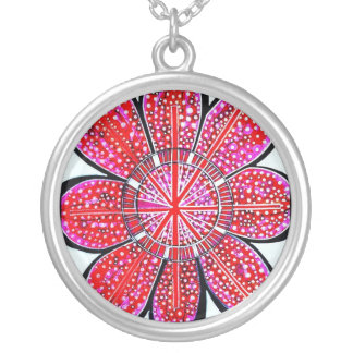 Emily Red Design - Large Pendant Necklace