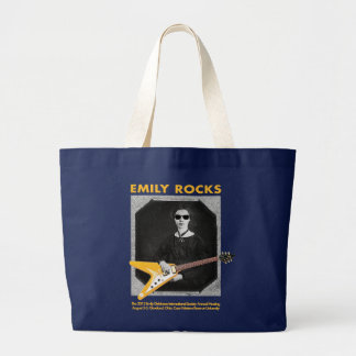 Emily Rocks! Large Tote Bag