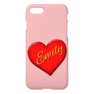 Emily with Heart iPhone 7 Case