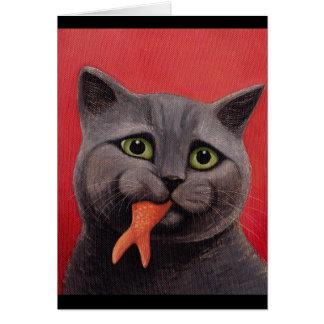 Emilys goldfish card