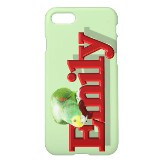 Emily's Phone Case with Parrot