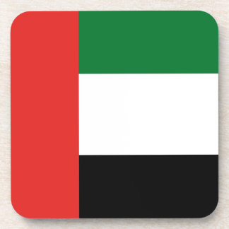 Emiradosarabes flag drink coasters