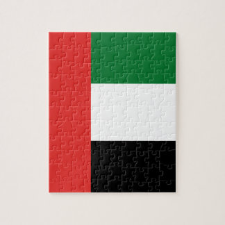 Emiradosarabes flag jigsaw puzzle