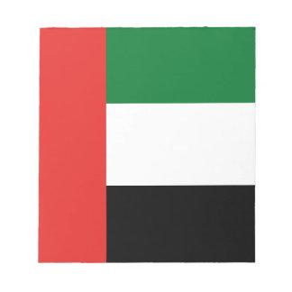 Emiradosarabes flag notepad