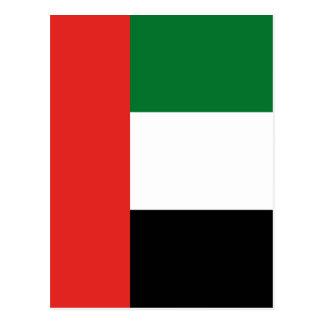 Emiradosarabes flag postcard