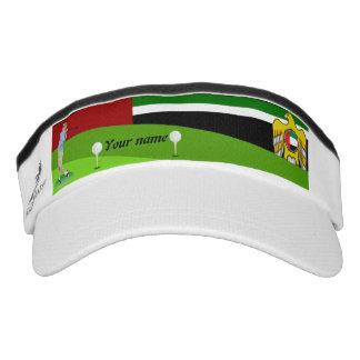 Emirate golfer visor