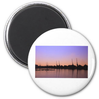 Emirates Cable Car Skyline Magnet