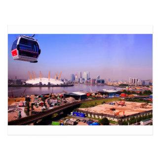 Emirates Cable Car Skyline Postcard