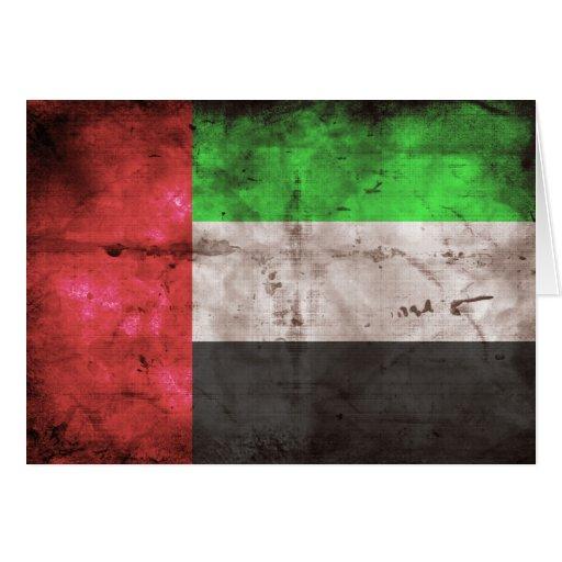 Emirati Flag Greeting Card