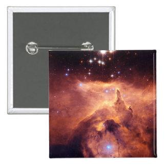 Emission Nebula NGC6357 15 Cm Square Badge