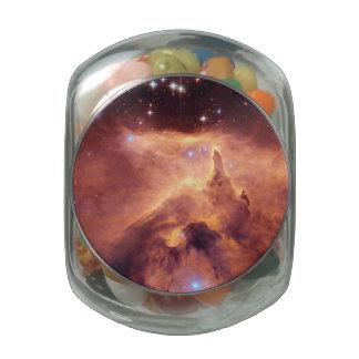 Emission Nebula NGC6357 Glass Candy Jars