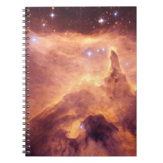 Emission Nebula NGC6357 Spiral Note Book