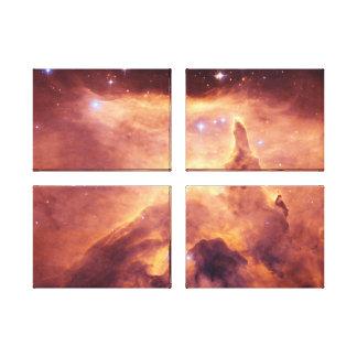 Emission Nebula NGC6357 Stretched Canvas Print