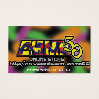 Emma56 business cards