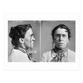 Emma Goldman - anarchist, 1911 Postcard