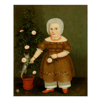 Emma Homan by John Bradley ~ ca.1844 Poster