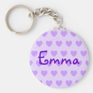 Emma in Purple Key Ring