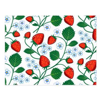 Emma Janeway Strawberries Postcard