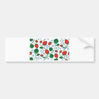 Emma Janeway Strawberry Collection Bumper Sticker