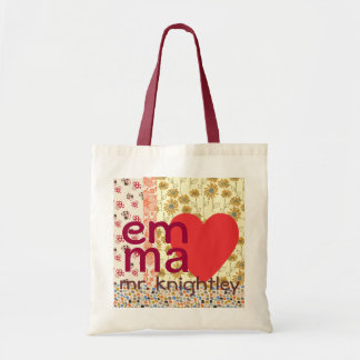 Emma Loves Mr. KnightleyTotebag