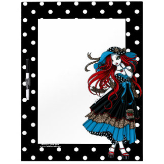 Emma Rockabilly Swallow Angel Dry Erase Board