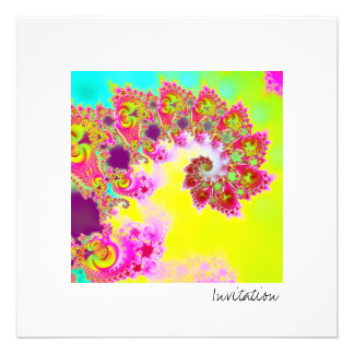 Emma s Garden V · Fractal Art · Monsoon Custom Invitations