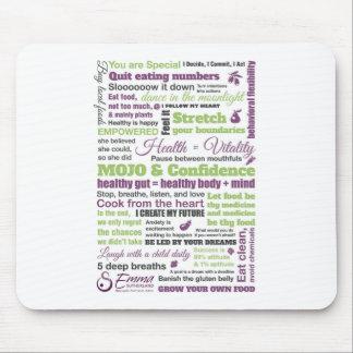 Emma Sutherland's Inspirational Manifesto Mouse Mat