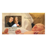 Emmanuel, God is with us! Photo Greeting Card