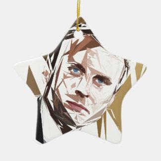Emmanuel Macron Ceramic Ornament
