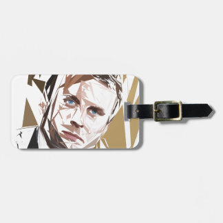 Emmanuel Macron Luggage Tag