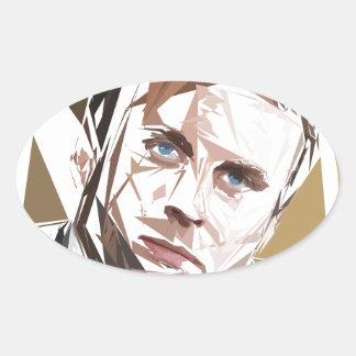 Emmanuel Macron Oval Sticker
