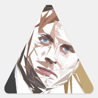 Emmanuel Macron Triangle Sticker