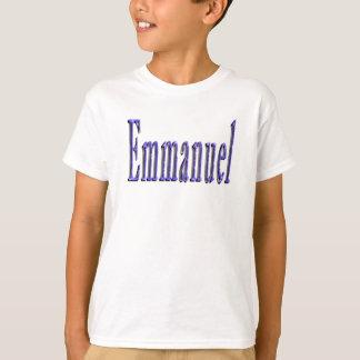 Emmanuel Name Logo, T-Shirt