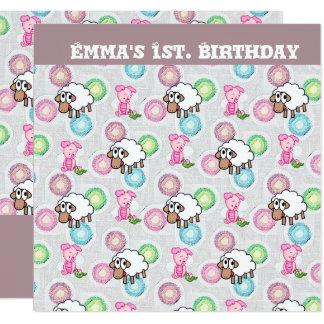 Emma's Birthday Invitation Cards