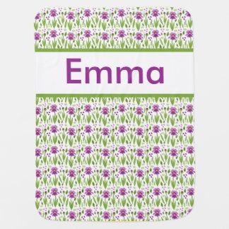 Emma's Personalized Iris Blanket