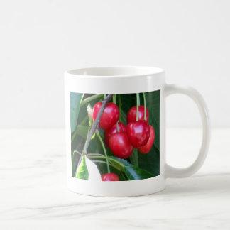 Emmett Cherries Basic White Mug
