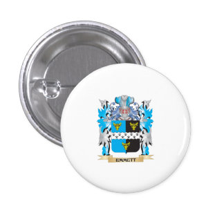 Emmett Coat of Arms - Family Crest Buttons
