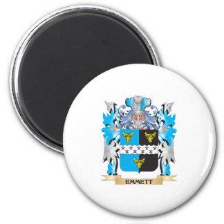 Emmett Coat of Arms - Family Crest Refrigerator Magnets