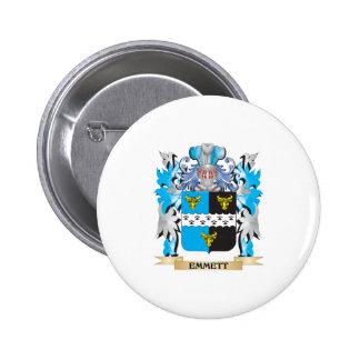 Emmett Coat of Arms - Family Crest Pin