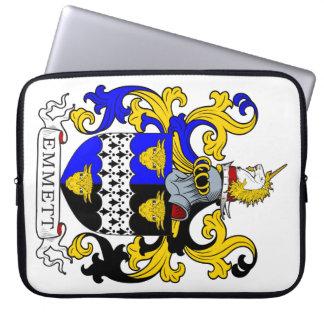 Emmett Coat of Arms Laptop Computer Sleeve