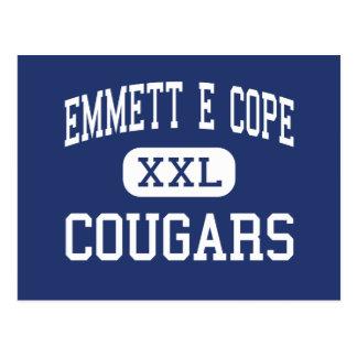 Emmett E Cope Cougars Middle Bossier City Postcard
