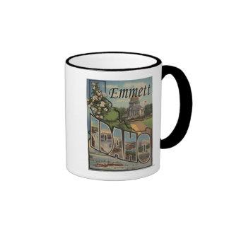 Emmett, IdahoLarge Letter ScenesEmmett, ID Coffee Mug