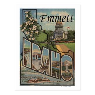 Emmett, IdahoLarge Letter ScenesEmmett, ID Postcard