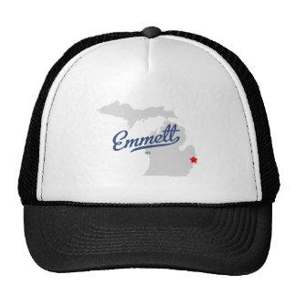 Emmett Michigan MI Shirt Trucker Hat