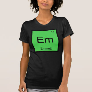 Emmett Name Chemistry Element Periodic Table Tees